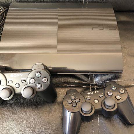 PS3 Sony PlayStation 3 super slim 1tb официальная с играми