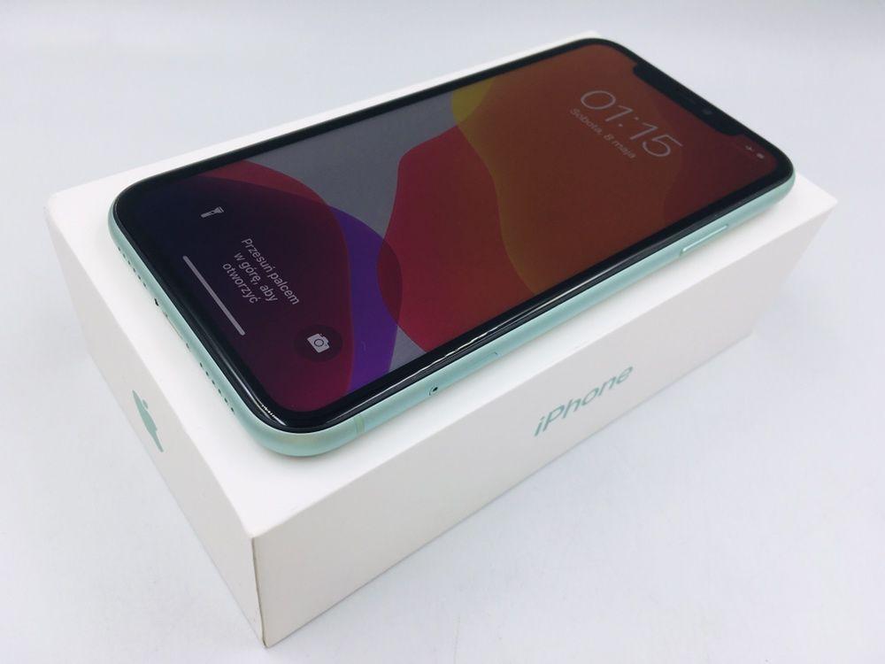 iPhone 11 64GB GREEN • GWAR 12 msc • DARMOWA wysyłka • FAKTURA