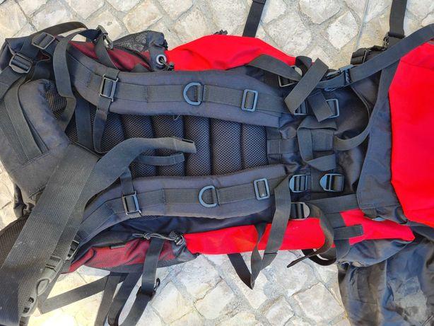 mochila de viagem e aventura