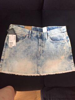 Jeansowa spódnicza H&M, rozmiar M