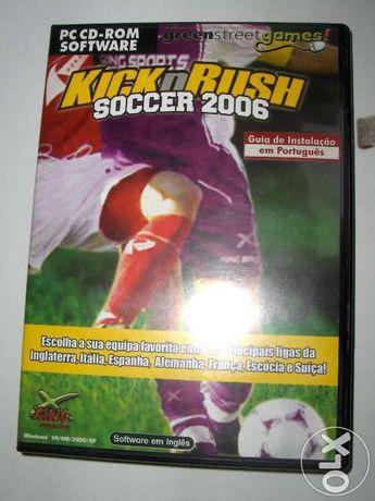 Kicknrush soccer 2006-pc cd-rom software