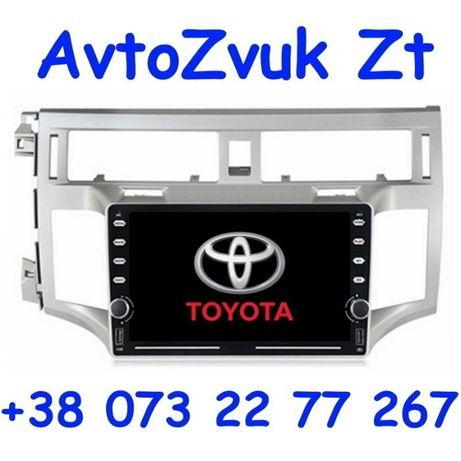 Магнитола AVALON Toyota GPS USB Авалон Hавигация 2 din дин Android 10