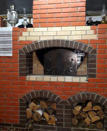 Пицца из печи на живом огне