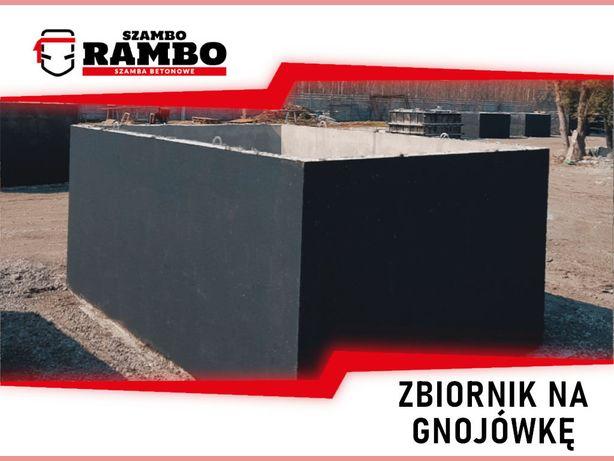 Zbiornik Betonowy 10m3 Na Gnojówkę Wodę Deszczówkę Szambo Betonowe
