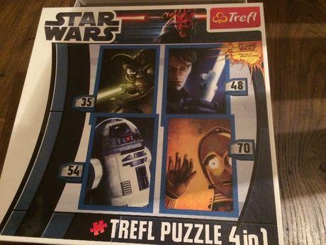 Puzzle z kultowego filmu STAR WARS