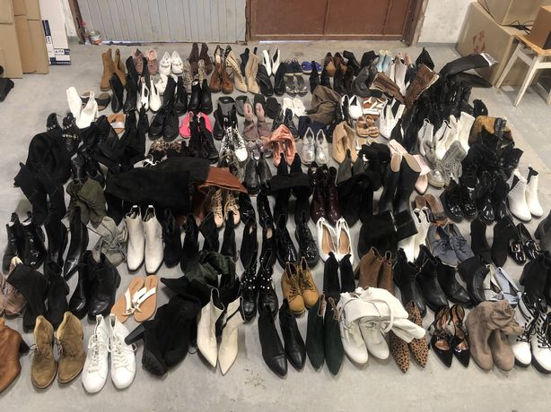 Секонд хенд оптом обувь опт взуття оптом сток осеняя