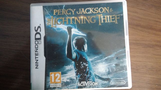 Jogo Percy Jackson &the Lightning Thief para nintendo DS