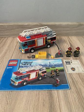 Lego City 60002 wóz strażacki jak nowy czyt. opis