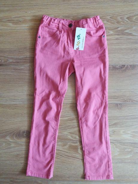 Spodnie dziewczęce skinny r.116 NOWE !