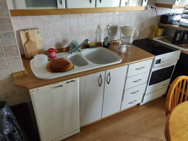 Meble kuchenne + zlew z baterią + zmywarka + okap + piekarnik CITO