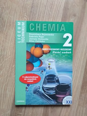 Zbiór zadań - chemia - liceum, technikum