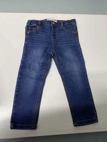Calça de Ganga da Zara tamanho 2/3 como novas