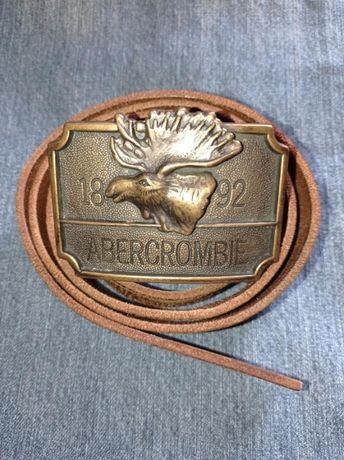 Ремень кожаный Abercrombie & Fitch