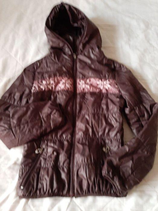 Куртка на девочку Black Red размер S. Харьков - изображение 1