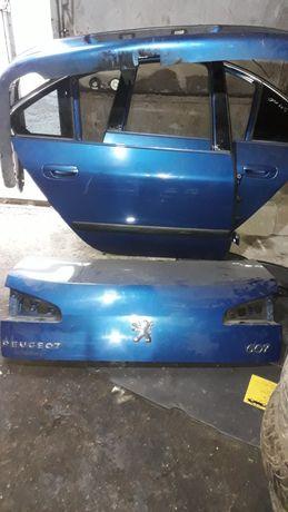 Капот, дверь, бампер, кляпа  Peugeot 607, Пежо 607
