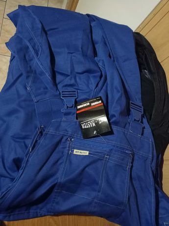 Spodnie robocze (niebieskie)