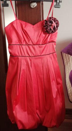 Elegancka sukienka rozmiar M, idealna na wesele, komunie