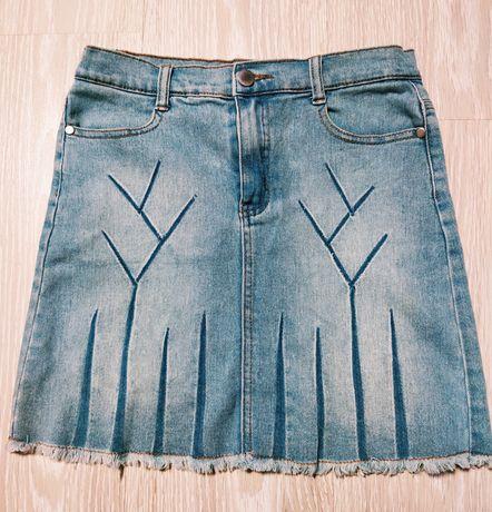 Юбка летняя джинсовая