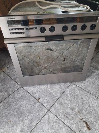 Simens pikarnik+mikrofala HE78250 do zabudowy , płyta grzewcza