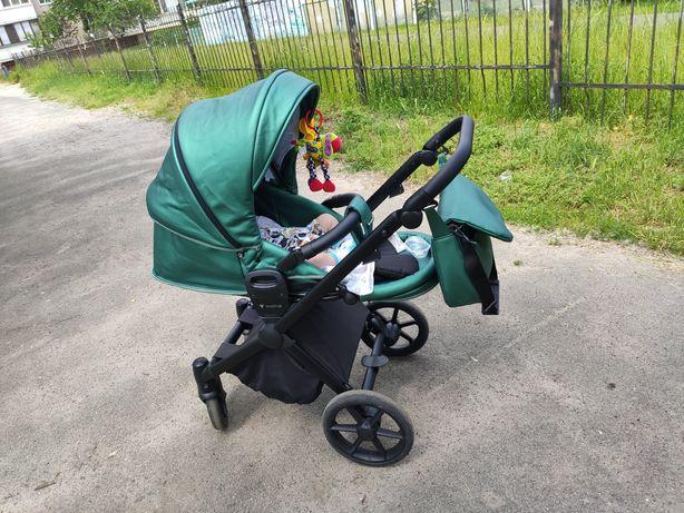 Детская коляска Invictus V-Dream Lux Green
