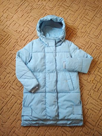 Куртка пальто пуховик, р.164