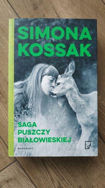 Saga Puszczy Białowieskiej - Simona Kossak NOWA
