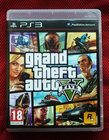 GTA 5 для PS3 Play Station Игра grand theft auto V. Лицензия