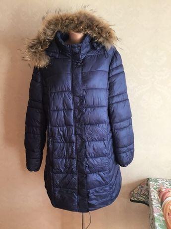 Итальянское стеганное пальто,батал Mitno