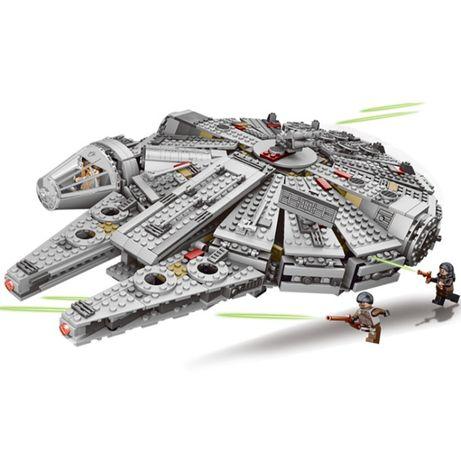 STAR WARS Sokół Millennium 79211 - Klocki kompatybilne z LEGO 75257