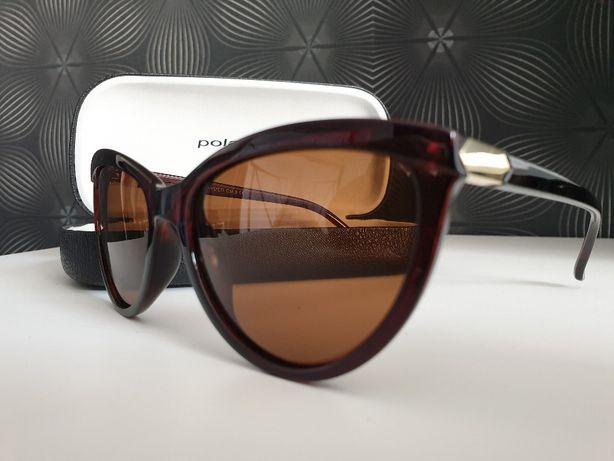 Okulary Polaryzacyjne Poliwęglan Damskie Przeciwsłoneczne br595
