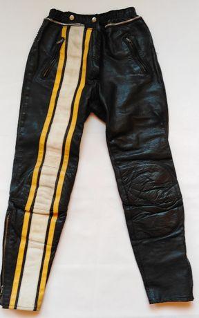 Damskie Spodnie skórzane rozmiar 40