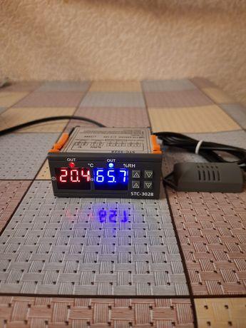 STC3028 термо-вологорегулятор. 220/1.5кВт.