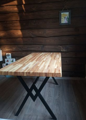 стол в стиле лофт. ручная работа