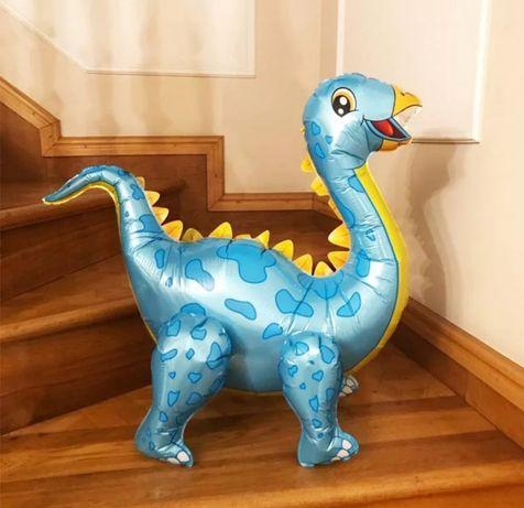 Шар динозавр надувной из фольги на день рождение фотосесию