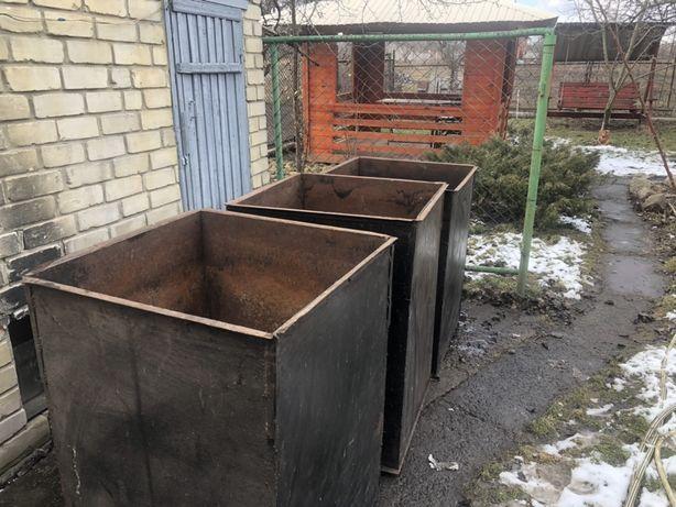 Контейнер для мусора или зерновых культур