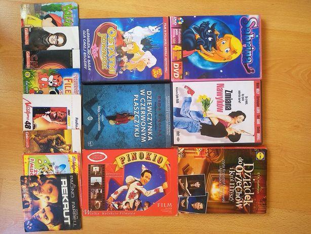 Zestaw filmów i bajek DVD