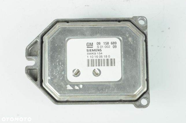 Komputer silnika Zafira 1.8 09158689