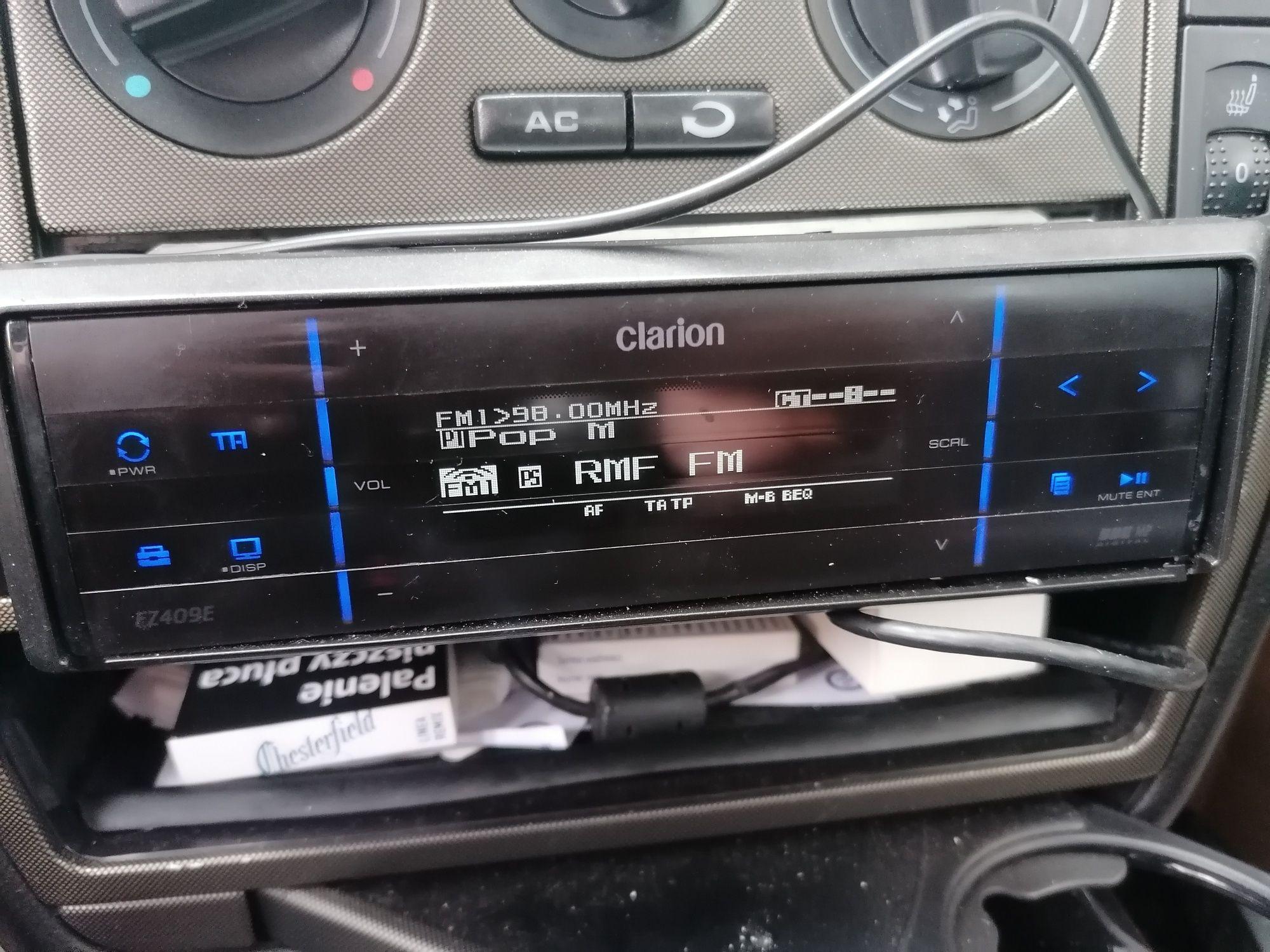 Radio Clarion fz409e ZAMIENIĘ