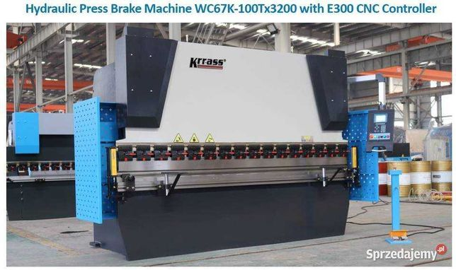 Prasa krawędziowa CNC 100 t. x 3200