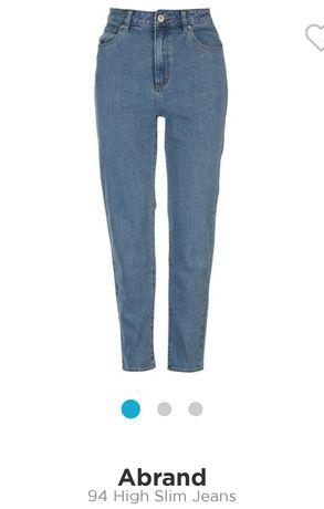 """Spodnie jeans """" Abrand"""" oryginalne"""