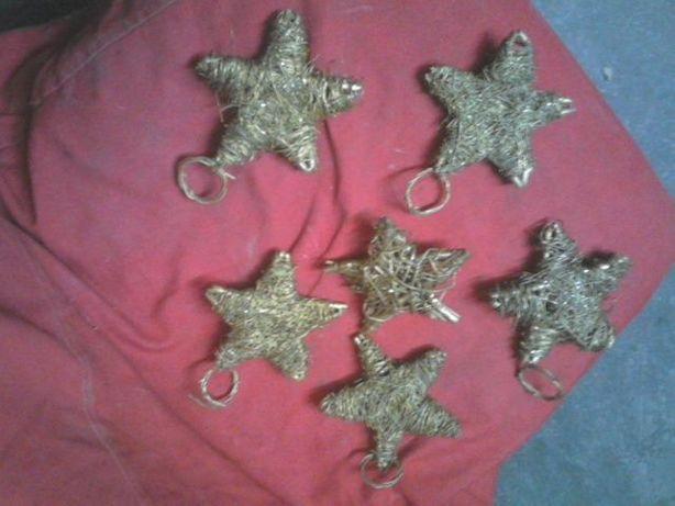 Estrelas Natal em palhinha