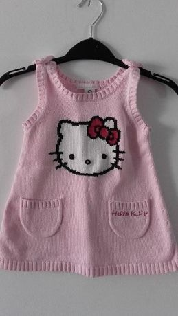 Vestido malha Hello Kitty H&M