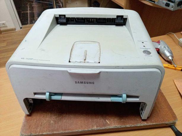 Лазерный принтер Samsung ML-1520P (под списание или донор корпуса)