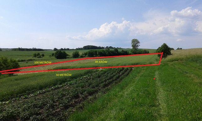 Działka rolno-rekreacyjna w Woli Zgłobieńskiej 15km od Rzeszowa