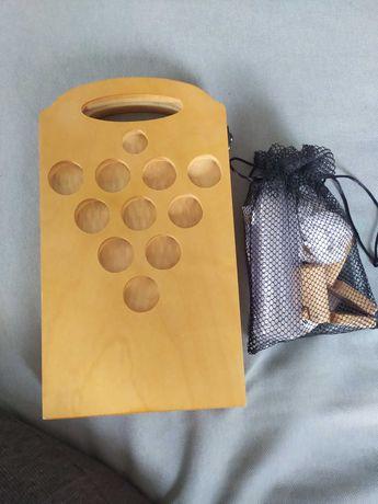 Jogo de madeira Wood Pong