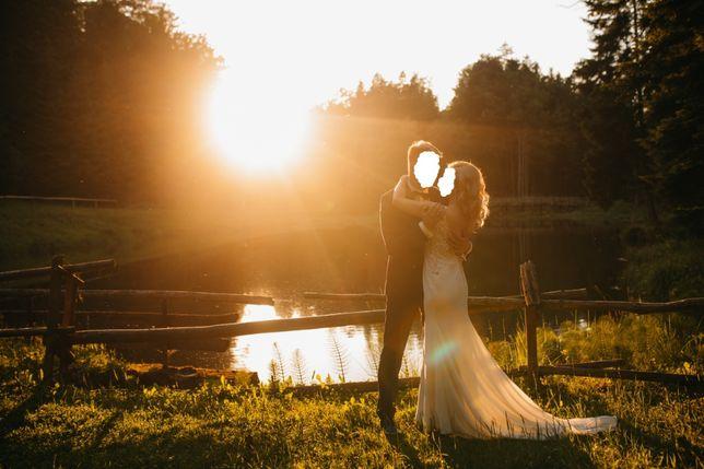 suknia ślubna Lillian West 6454 IVORY/NUDE US 8