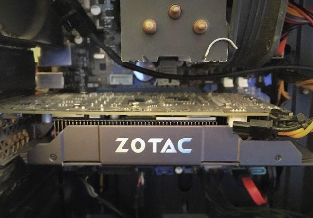 Karta graficzna GeForce GTX 1060 3GB ZOTAC AMP