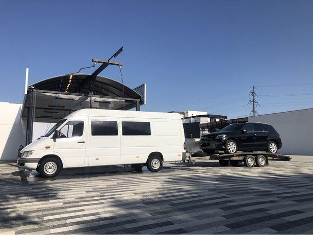 Евакуатор перевозка новых б/у и поврежденных автомобилей Европа Украин