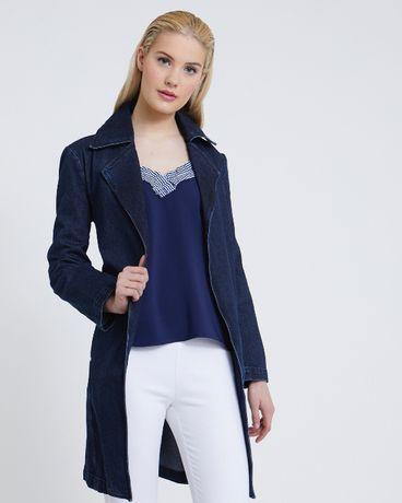 Jeansowa kurtka płaszcz Savida 36/38
