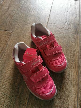 Nowe różowe adidasy r. 29